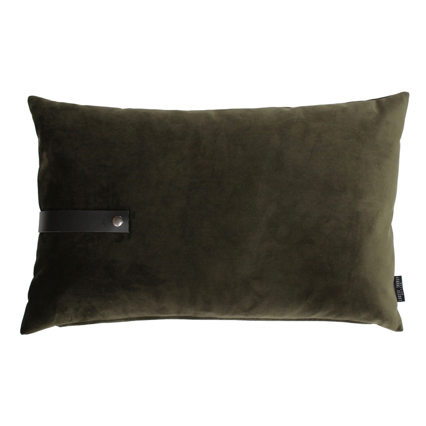 Pude Velour 40x60, army