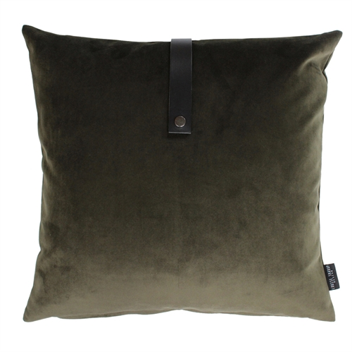 Pude Velour 65x65, army