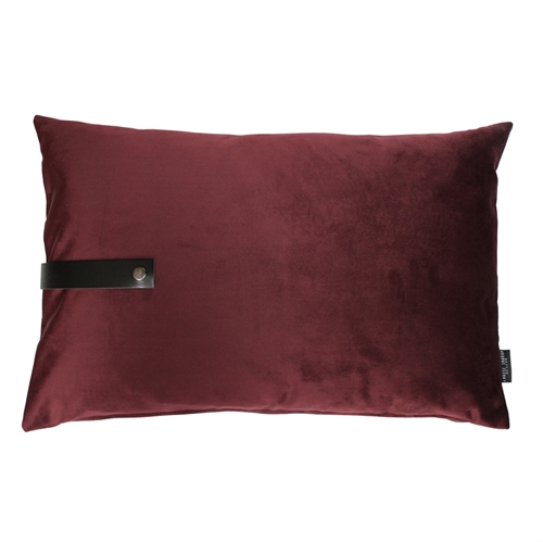 Pude Velour 80x50, bordeaux